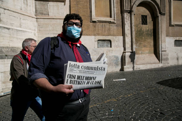 ITA: Italians hold protest against fascism a week after anti-vax riots in Rome