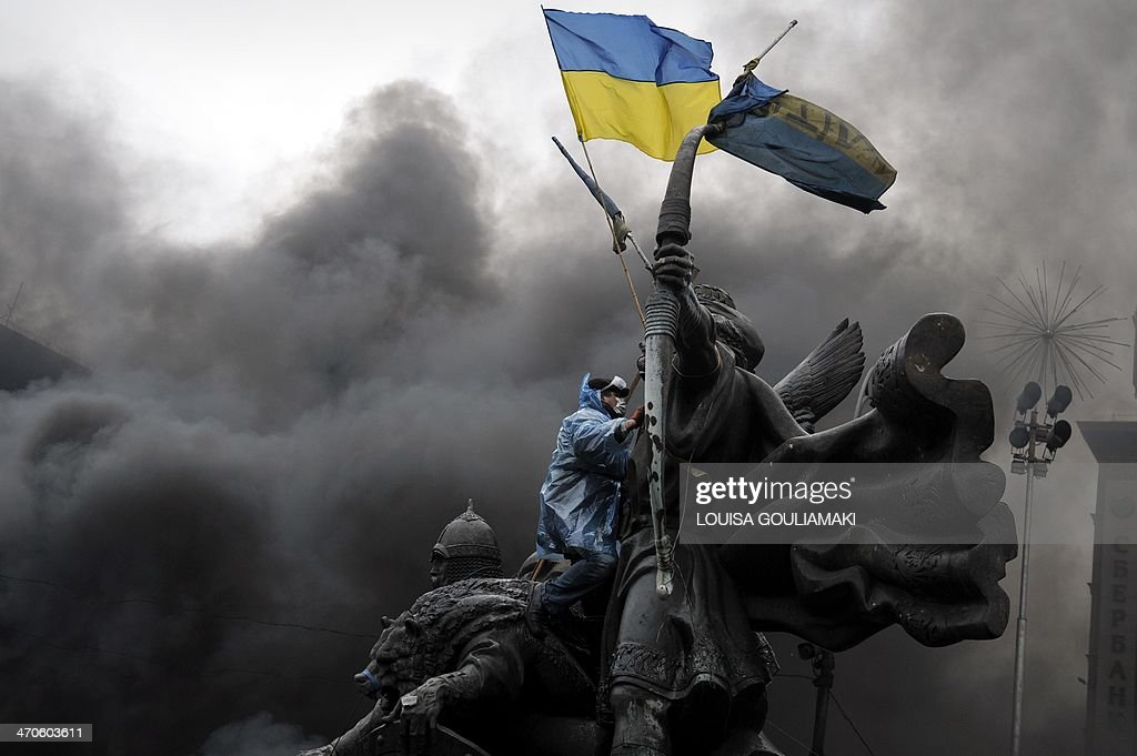UKRAINE-POLITICS-UNREST : News Photo