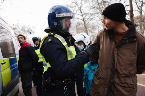 GBR: Anti-Lockdown Activists Demonstrate In London