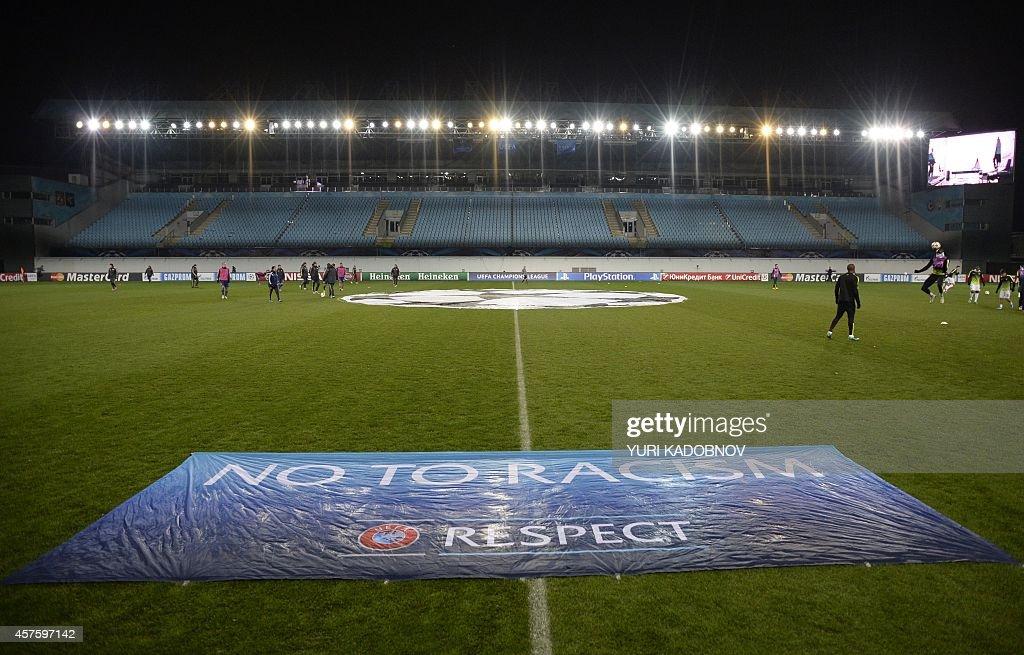 FBL-EUR-C1-CSKA MOSCOW-MAN CITY : News Photo
