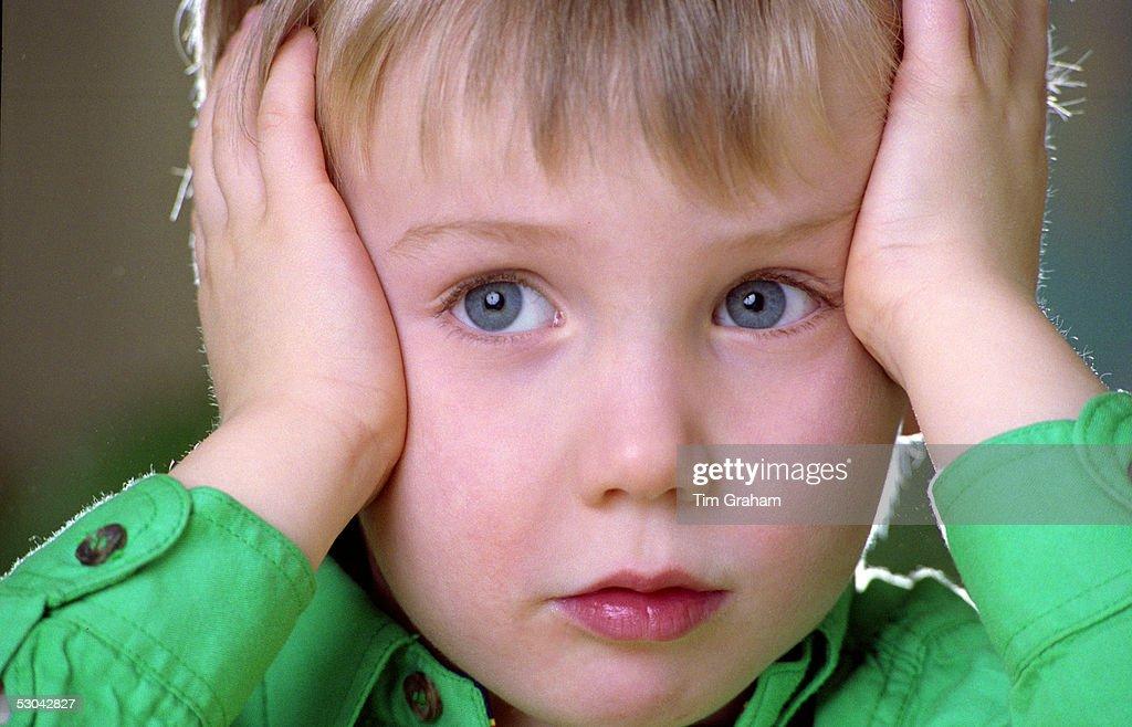 A five year old boy : News Photo