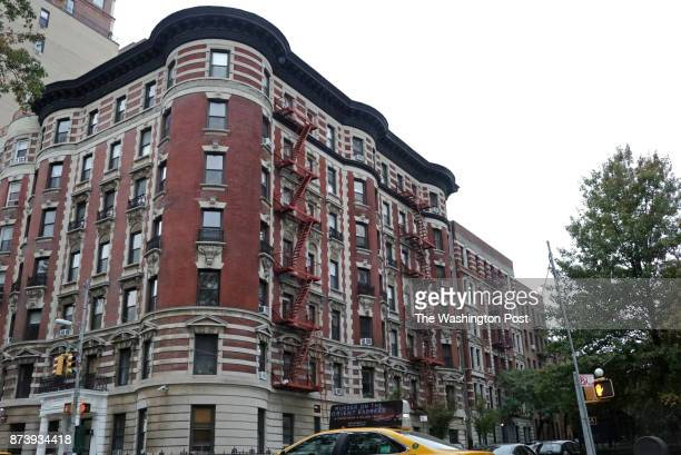 An apartment building on 448 Central Park West in Manhattan NY seen on October 26 from where 9 kg of fentanyl and heroin were recovered according to...