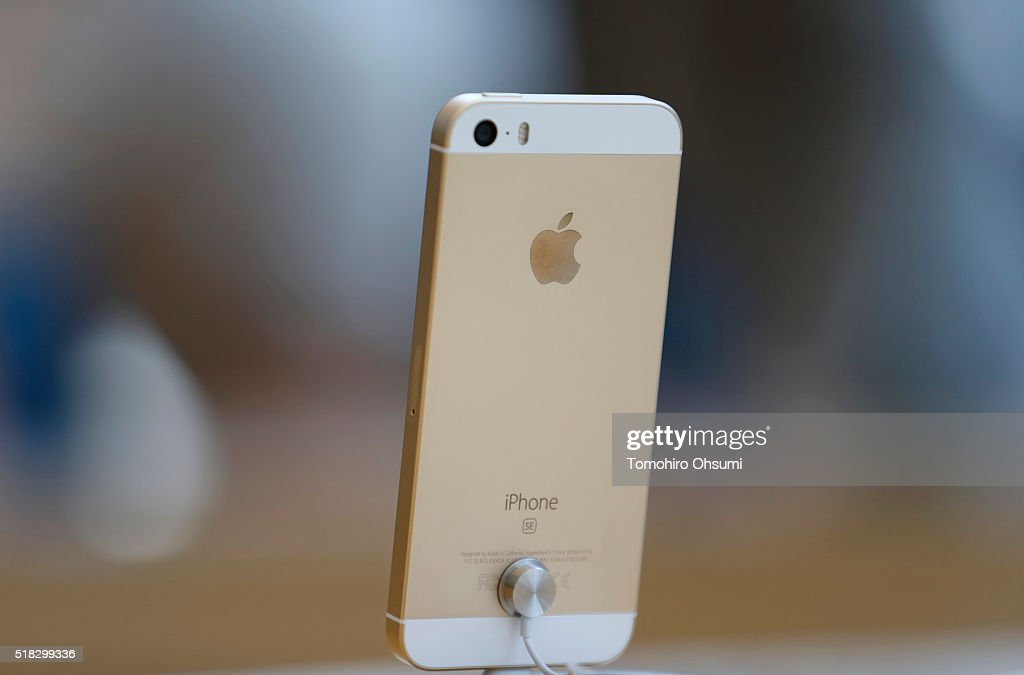iPhone SE/iPad Pro 9.7 inch Launch In Tokyo : News Photo