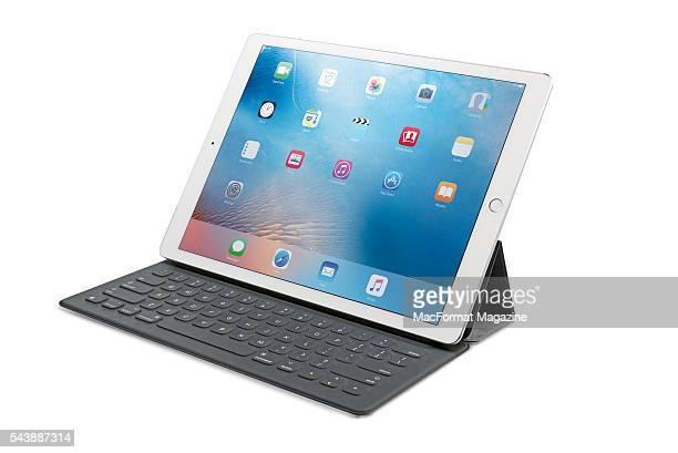 An Apple iPad Pro and Smart Keyboard taken on November 20 2015