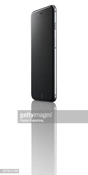 An Apple iPhone 6 Plus smartphone with a Space Grey finish taken on October 20 2014