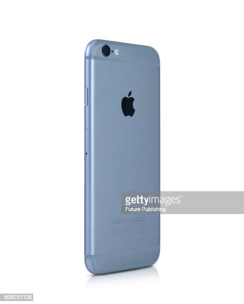 An Apple iPhone 6 smartphone with a Space Grey finish taken on April 14 2015