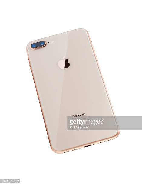 An Apple iPhone 8 Plus with a Gold finish taken on September 27 2017