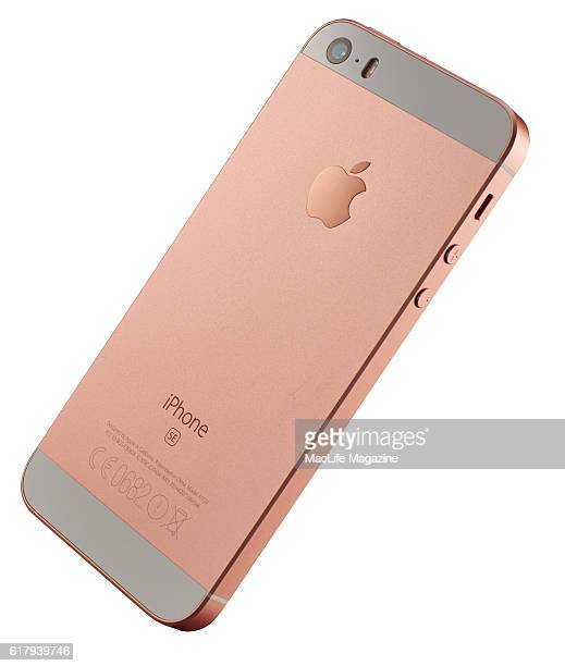 An Apple iPhone SE smartphone taken on April 10 2016