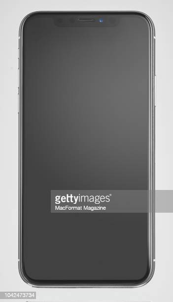An Apple iPhone X smartphone, taken on November 6, 2017.