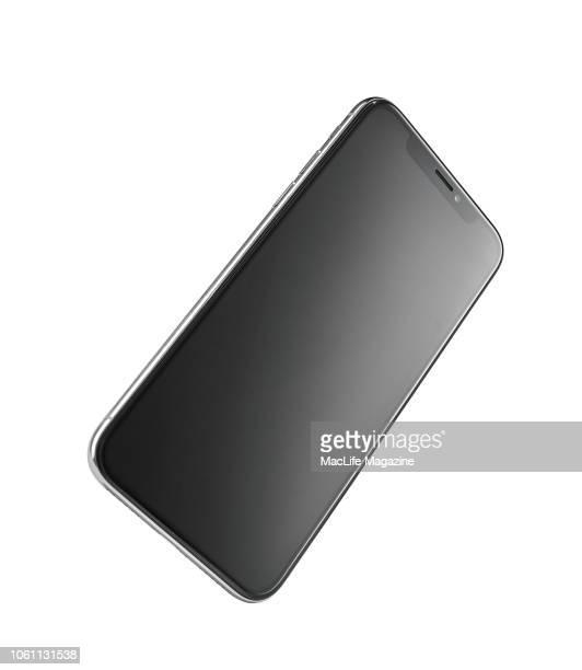 An Apple iPhone X smartphone taken on November 6 2017