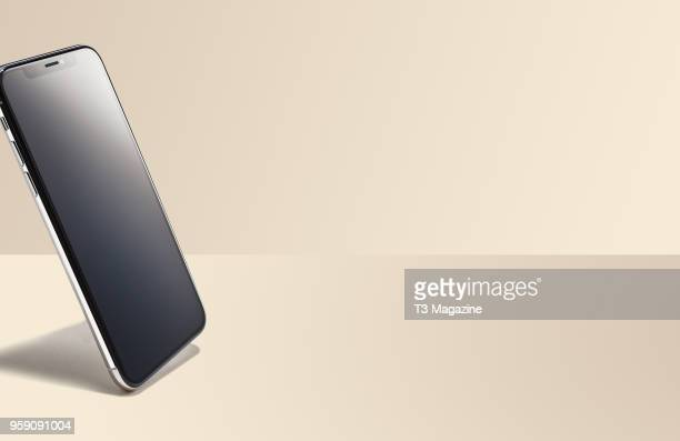 An Apple iPhone X smartphone taken on October 27 2017