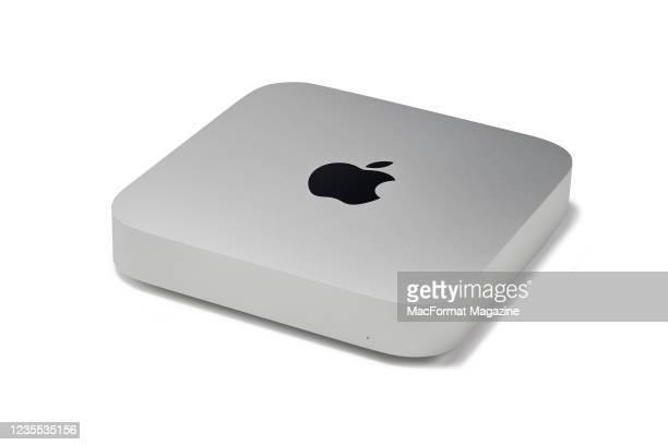 An Apple Mac Mini desktop computer, taken on November 24, 2020.