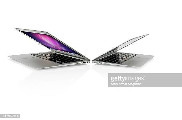 An Apple MacBook Air 13inch and Apple MacBook Air 11inch taken on November 17 2010