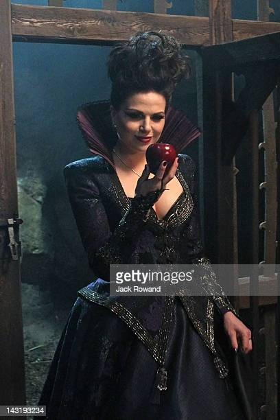 "An Apple Red as Blood"" - Henry pleads with Emma to stay in Storybrooke and continue her quest as the savior of the fairytale dwellers, and Regina..."