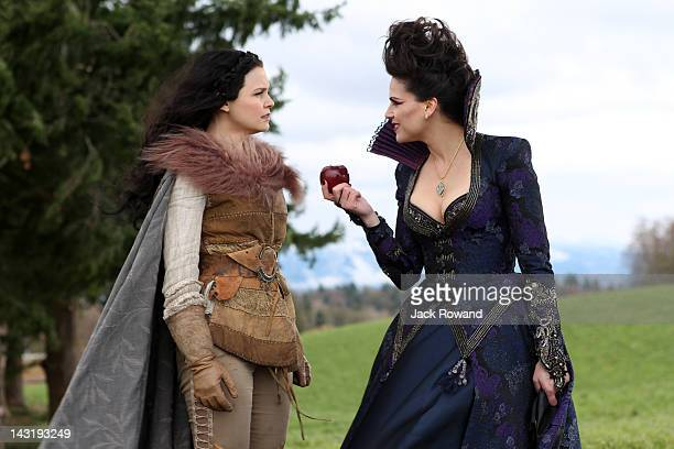 """An Apple Red as Blood"""" - Henry pleads with Emma to stay in Storybrooke and continue her quest as the savior of the fairytale dwellers, and Regina..."""