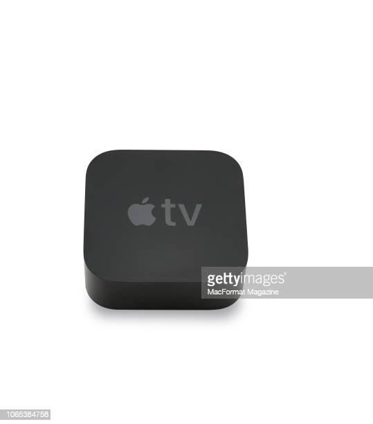 An Apple TV box taken on October 3 2017