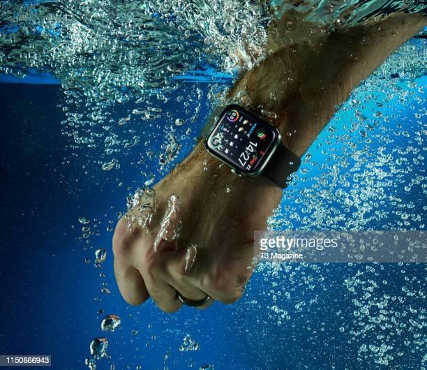 An Apple Watch Series 4 smartwatch, taken on November 22, 2018.