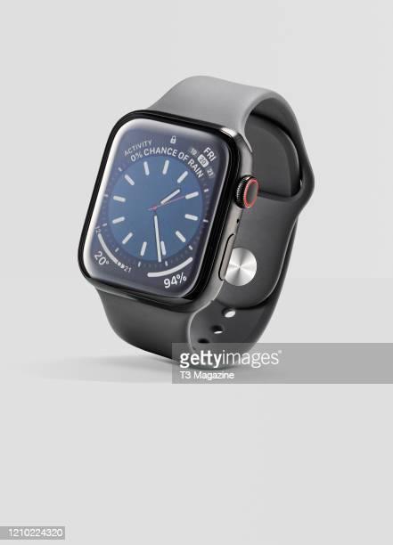 An Apple Watch Series 5 smartwatch, taken on October 1, 2019.