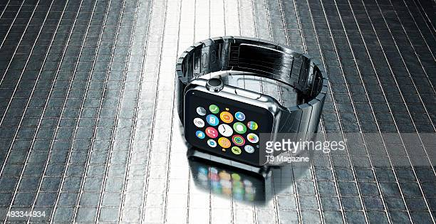 An Apple Watch smartwatch taken on March 4 2015