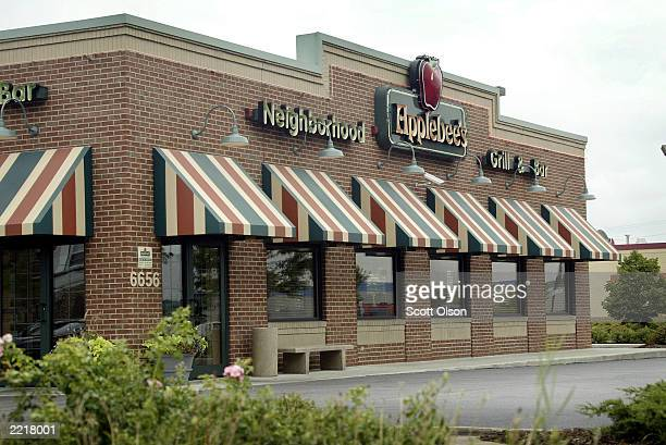 An Applebee's restaurant is seen open for business in Chicago Illinois July 28 2003 Applebee's recently announced it would enter a license agreement...