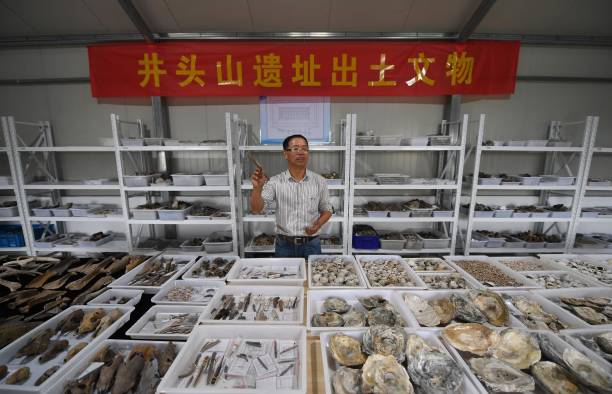 CHN: Shell Mound Ruins Excavated In Yuyao