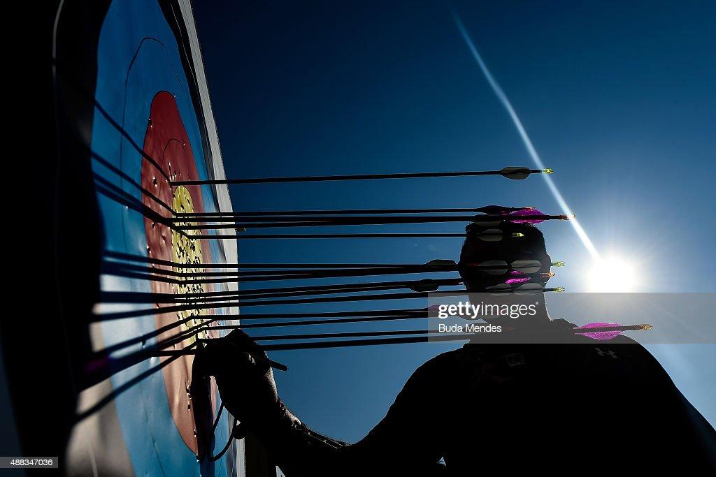 Archery Challenge - Aquece Rio Test Event for the Rio 2016 Olympics : News Photo