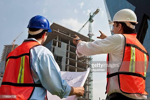 Architekt und Foreman