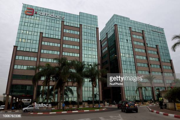 An archive file released on July 282018 shows Israeli high tech giant Amdocs headquarters in Ra`anana Israel on Dec 28 2017