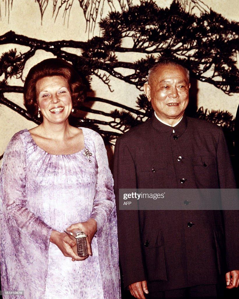 NLD-CHINA-BEATRIX : News Photo