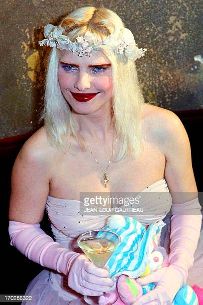 An archive portrait taken on January 28 1988 in Paris shows Ilona Staller known as Cicciolina Italian pornostar and member of Italian Parliament AFP...