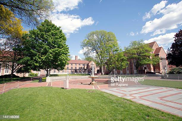 An area called the Quad at Cranbrook School where presumptive Republican presidential nominee and former Massachusetts Governor Mitt Romney attended...