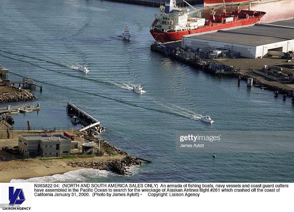 An armada of fishing boats, navy vessels and coast guard