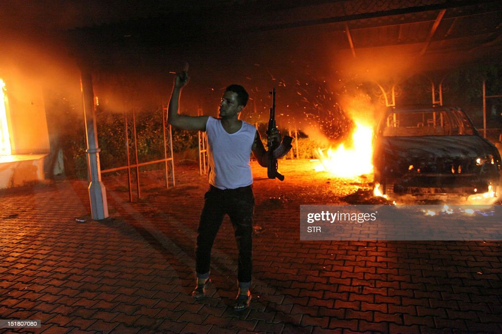 LIBYA-UNREST-US : News Photo