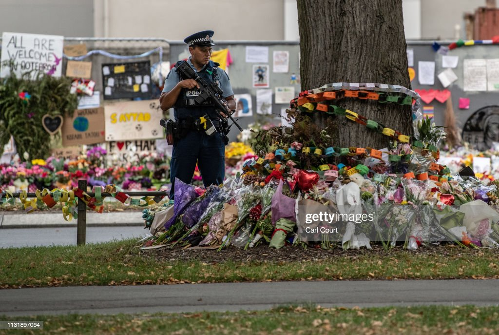 New Zealand Marks One Week Since Christchurch Terror Attacks : Foto jornalística