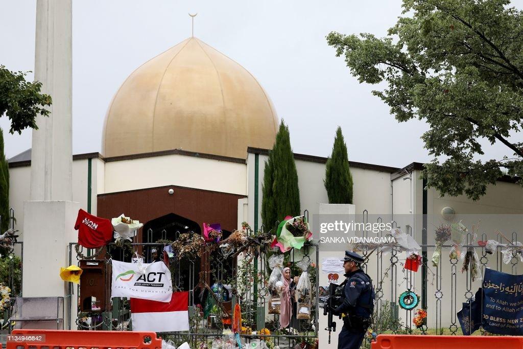 NZEALAND-RELIGION-ATTACKS-MOSQUE-COURT : Foto jornalística