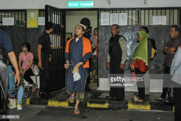 An arms smuggler for the Indonesian terrorist network from the southern Philippines, Suryadi Mas'ud awaits trial at the West Jakarta District Court...