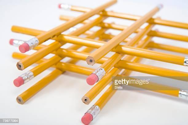 An arrangement of pencils