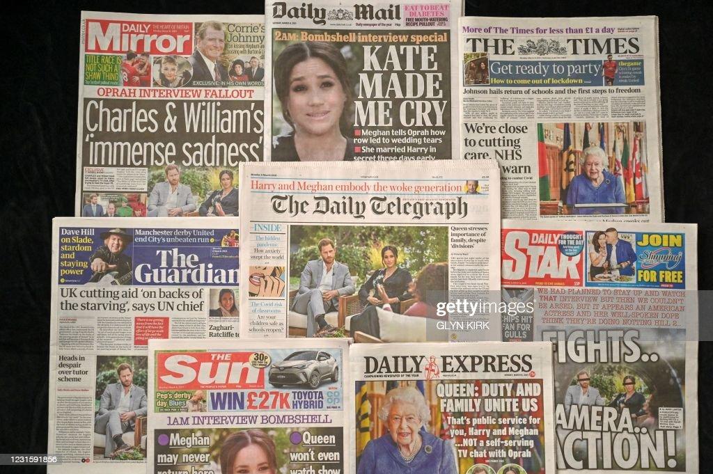 BRITAIN-US-ROYALS-HARRY-MEGHAN : News Photo