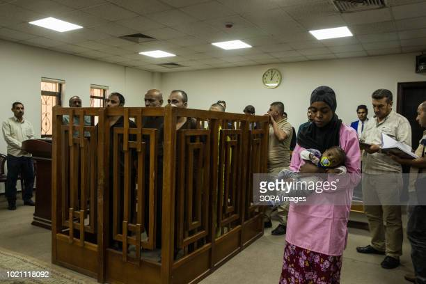 An arrested Trinidad Tobagonian woman brought to appear before Iraqi judges
