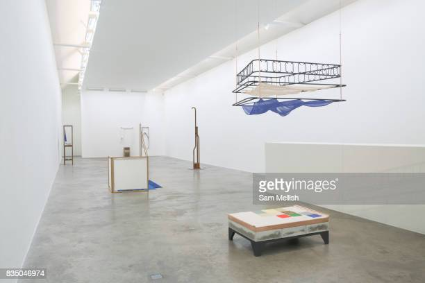 An art installation at the Kerlin Gallery on 05th April 2017 in Dublin Republic of Ireland The Kerlin Gallery is a contemporary art gallery based in...