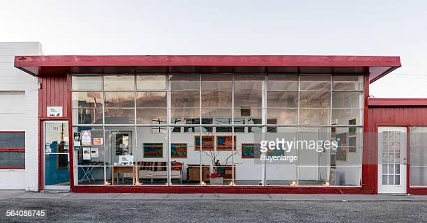 An art installation in Marfa a surprising city in Presidio County Texas