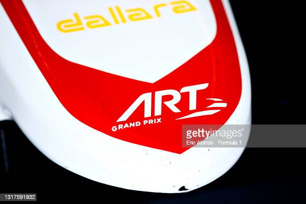 An ART logo is seen at Circuito de Jerez on May 12, 2021 in Jerez de la Frontera, Spain.