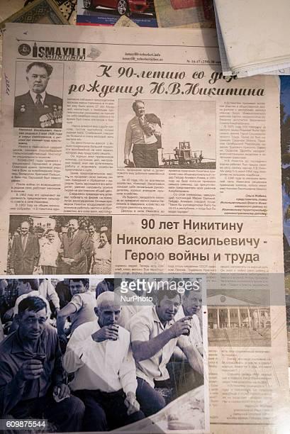 An article about Nikolay Nikitin and Ivanovka village with old photo of Nikitin kolkhoz workers Ivanovka village Azerbaijan Ivanovka is a village...