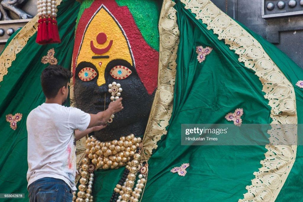 Preparation Of Gudi Padwa Festival