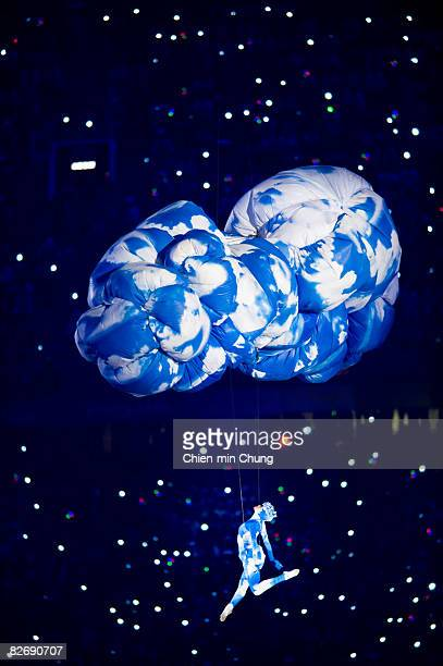 An artist performs at the Opening Ceremony for the 2008 Paralympic Games at the National Stadium on September 6 2008 in Beijing China