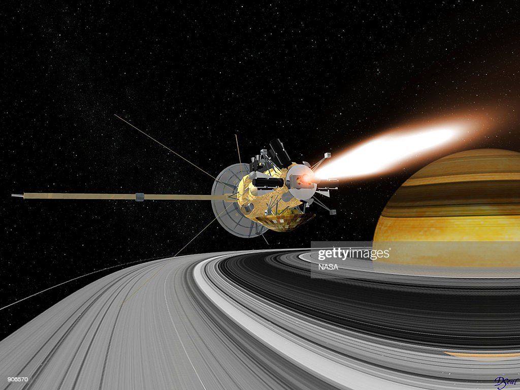 Cassini spacecraft in Earth swing : News Photo