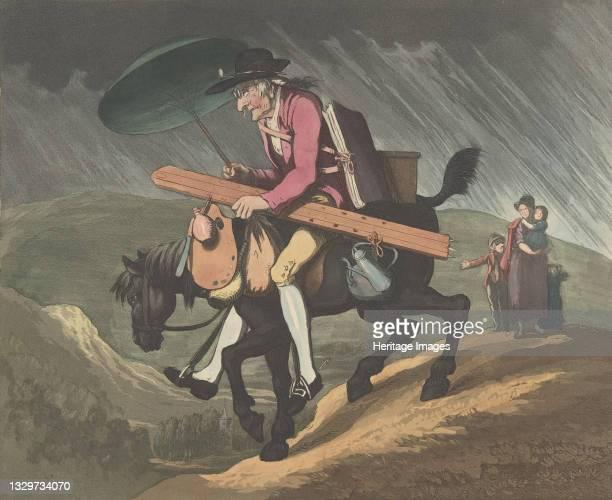 An Artist Travelling in Wales, February 10, 1799. Artist Henri Merke.