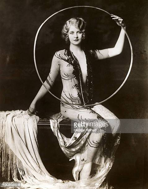 An artistic pose of Myrna Darby one of the beautiful American girls glorified by the noted producer Florenz Ziegfeld
