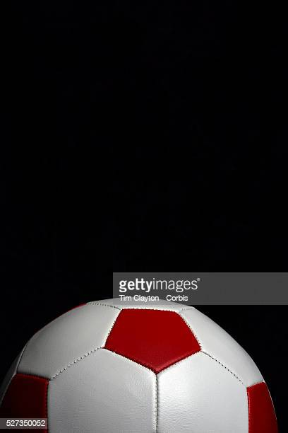 An artistic studio shot of a football with a photoshop colour harmonies effect 26th October 2012 Photo Tim Clayton