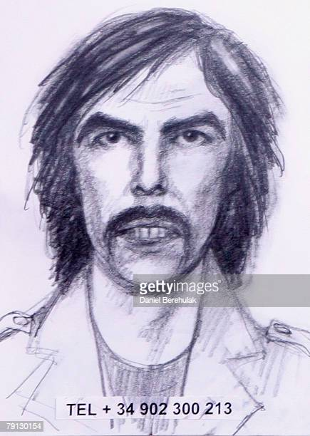 An artist's impression of the new suspect in the case of the disappearance of Madeleine McCann is pictured on January 20 2008 in London England The...
